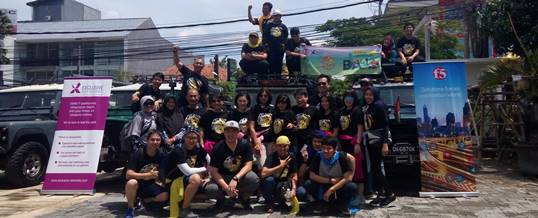 Konsep Bali Outbound Land Rover Amazing Race - Exclusive Networks & F5 - Foto