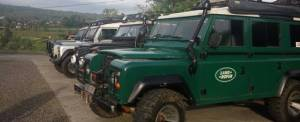 Outbound Land Rover Amazing Race di Bali - Exclusive Networks & F5 - Parkir