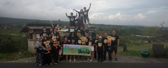 Outbound di Bali Land Rover Amazing Race - Exclusive Networks & F5 - Foto