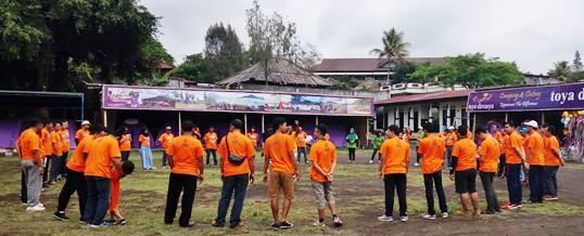 Paket Family Gathering Bali - Outbound Group - Jasa Raharja Cabang Bali