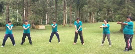 Bali Outound Kebun Raya - Supporting Bugs Training Center 180520171