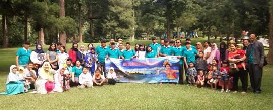 Outbound di Kebun Raya Bali - Supporting Bugs Training Center 180520171