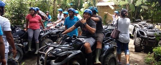 Outbound di Desa Taro Bali & ATV Ride - Starting