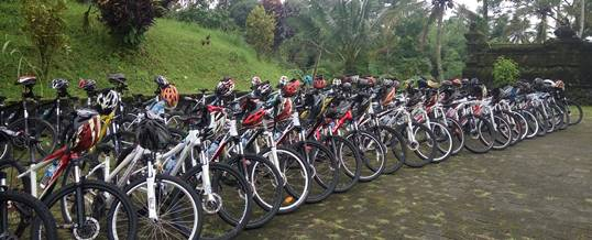 Outbound di Bali - Central Proteina Prima 2018 - Start Cylcling