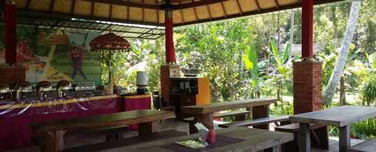Outbound di Bali Jungle Adventure - Restaurant 020718