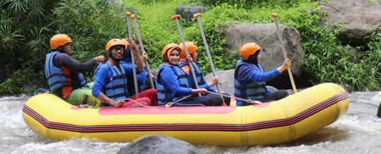 3 Pilihan Rafting Untuk Kombinasi Outbound di Bali
