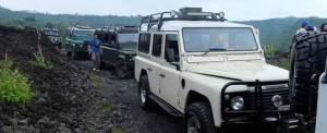 Outbound di Bali Nuansa Adventure Land Rover - Petuangan