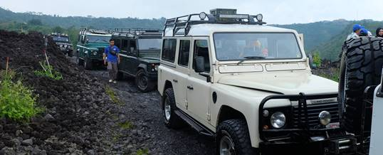 Outbound di Bali Nuansa Adventure Land Rover - Petuangan