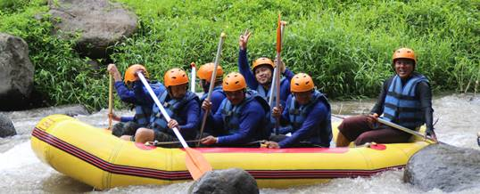 Rafting di Sungai Ayung Oytbound di Bali 82518