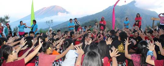 Outbound di Bali Sunrise Camp 080918
