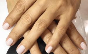 Nails done at Salon Armandeus Doral