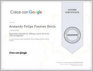 Seguridad Informática: defensa contra las artes oscuras digitales de Armando Felipe Fuentes Denis