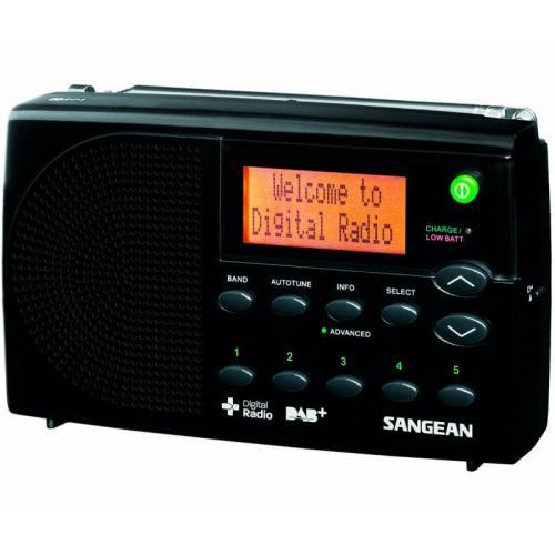 RADIO SANGEAN DIGITAL PORTATIL DPR-65 - NEGRO