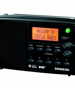 RADIO SANGEAN DIGITAL PORTATIL DPR-65 - NEGRO