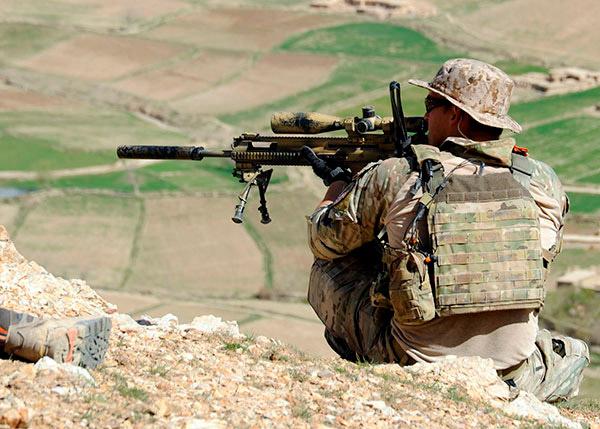 armas rifles tirador designado wwii FN SCAR MK20