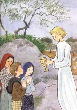 Risultato immagine per le apparizioni dell'angelo ai tre pastorelli di fatima