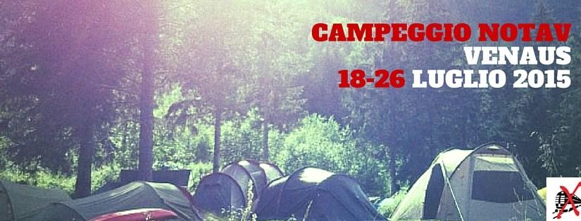 Venaus – Valle di Susa: La Scintilla al campeggio NOTAV