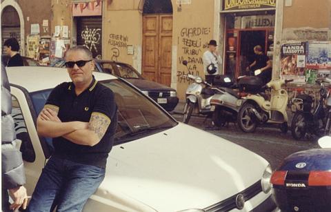 Valerio Marchi in via dei Volsci
