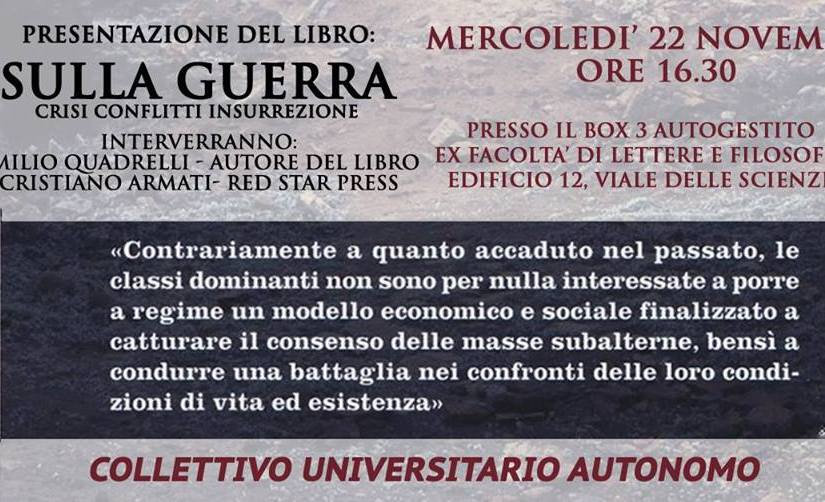 Sulla guerra a Palermo
