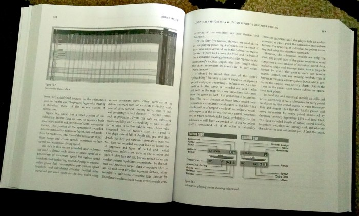 Brien Miller's chapter is well-illustrated with examples of how statistical analysis was integrated into game engines.