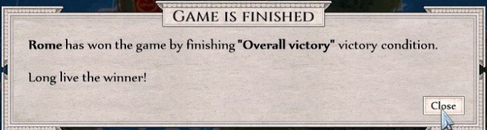 14 Overall Victory Win