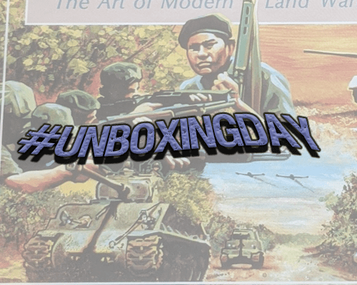 #UnboxingDay – Test of Arms by GDW