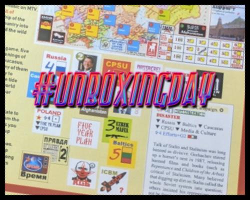 #UnboxingDay – Gorbachev by White Dog Games