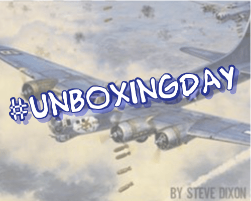 #UnboxingDay – Double Feature! Target For Today / B17 Queen of the Skies