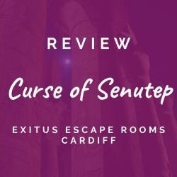 Exitus Escape Rooms – Curse of Senutep