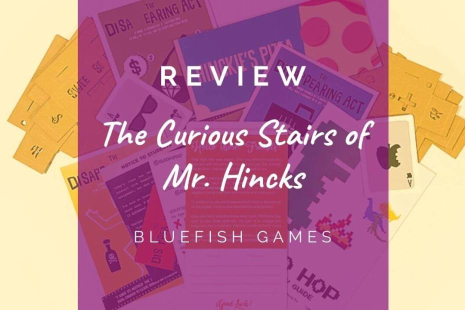 The Curious Stairs of Mr. Hincks review