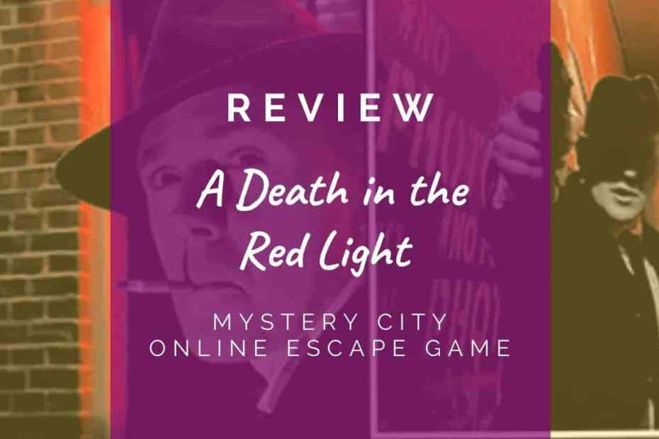 A Death in the Red Light review header