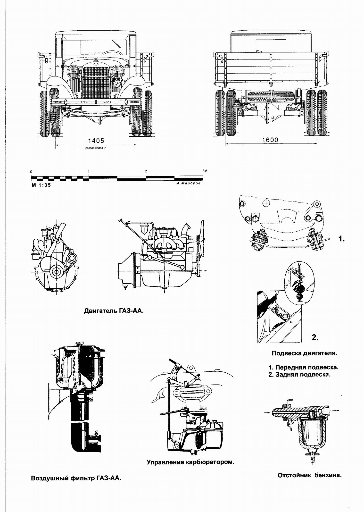 Armorama Lf Motor S Pics Of The Russian Truck Gaz Aaa