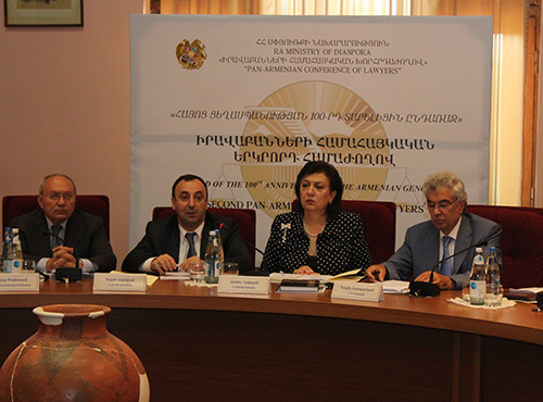 Second Pan-Armenian Forum of Lawyers Creates Special Committee to Study the Legal Aspects of the Armenian Genocide