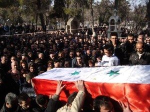 Hairabedian funeral 300x225 Between a Rock and a Hard Place: The Armenians in Syria