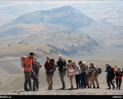 Armenia - Climbing Sipan