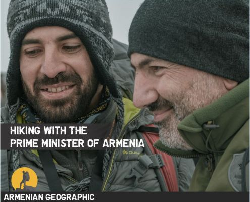 Hiking with the Prime Minister of Armenia