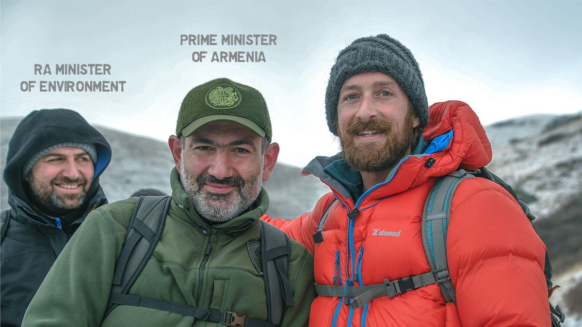 Hiking with prime minister of RA