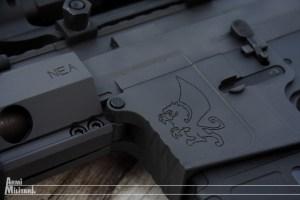 """NEA-15 12"""" - Il logo del produttore"""