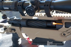 SHOT Show 2014 - Media Day Preview - Azione bolt action in .50 BMG