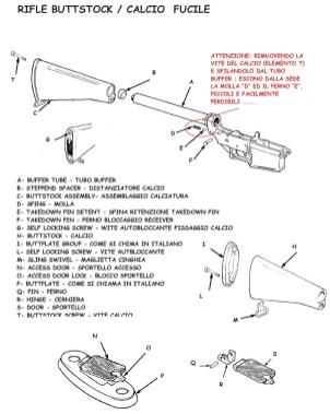 AR-15 M4 Spare Parts List - 13