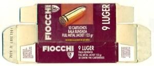 Fiocchi 9 Luger