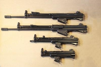 MKE - I receiver delle 4 armi