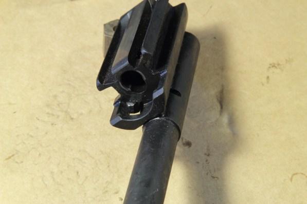 MKE T41 - Il porta otturatore e le sedi di montaggio dell'otturatore