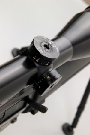 la regolazione di caduta dell ottica del 550 sniper