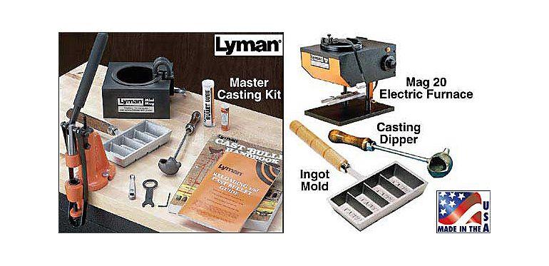 un set Lyman per iniziare la fusuione con tutti gli accessori principali