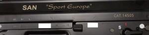 le vistose marcature dei Sport Europe 1, versione ingentilita del 550