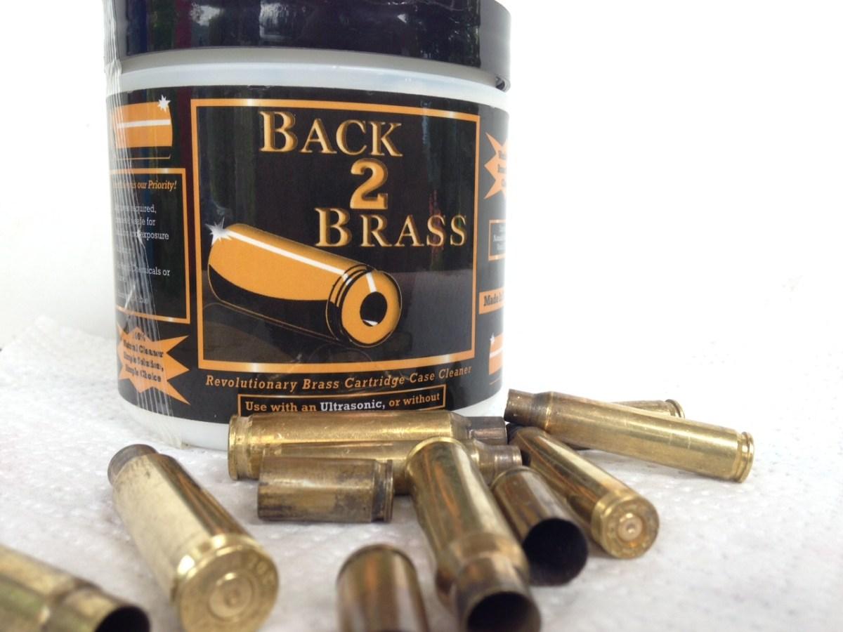 Back 2 Brass - sali per pulizia bossoli