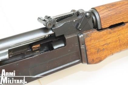 M72 - Receiver I tipo, si nota la canna avvitata