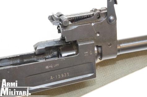 M70.A Particolare della canna avvitata nel receiver