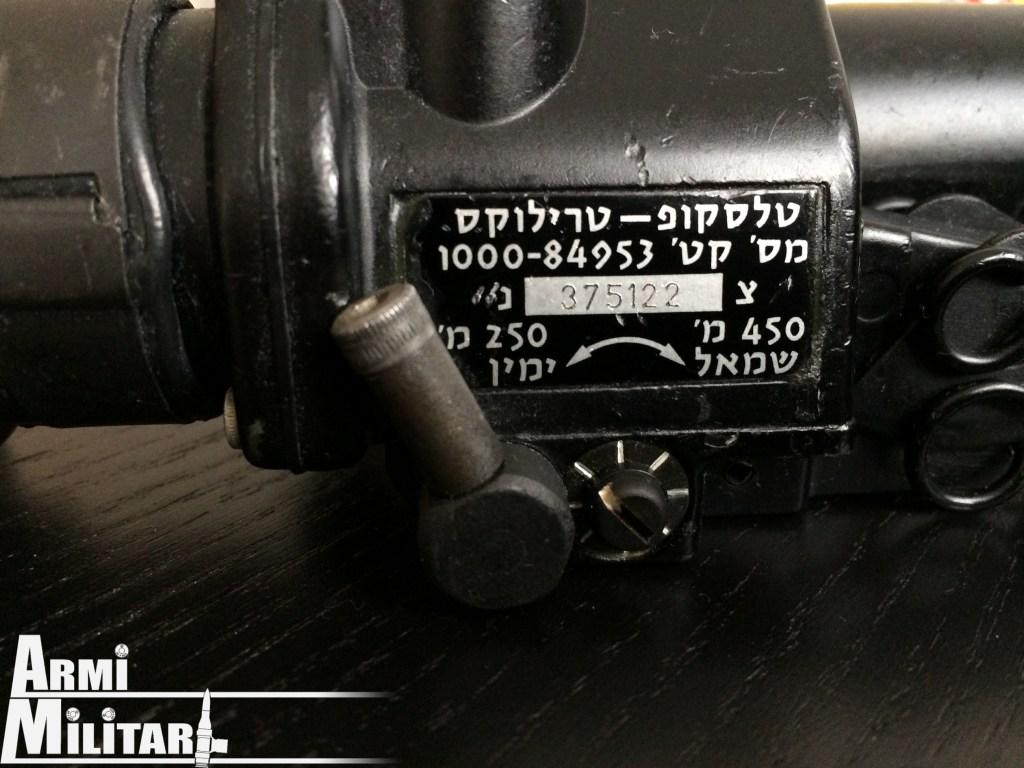 Trilux S.U.I.T. Israeliana, si notano le distanze in metri